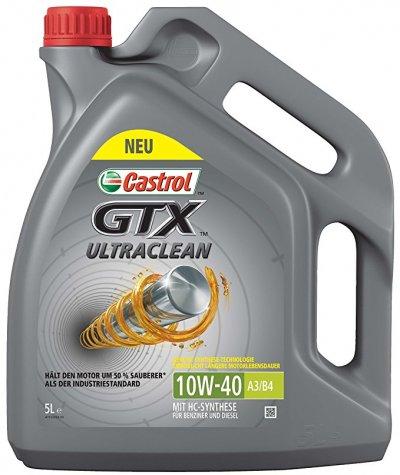 CASTROL GTX ULTRA CLEAN 10W-40 5L