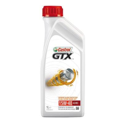 CASTROL GTX 15W-40 1L