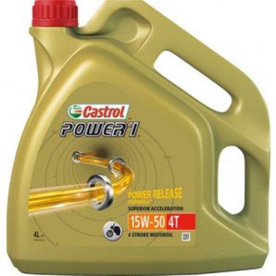 CASTROL 4T POWER 1 15W-50 4L