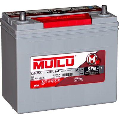 MUTLU 55AH 450A L+ 237x127x201