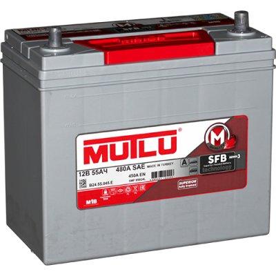 MUTLU 55AH 450A R+ 237x127x201