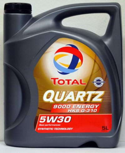 TOTAL QUARTZ 9000 ENERGY HKS G-310 5W-30 5L