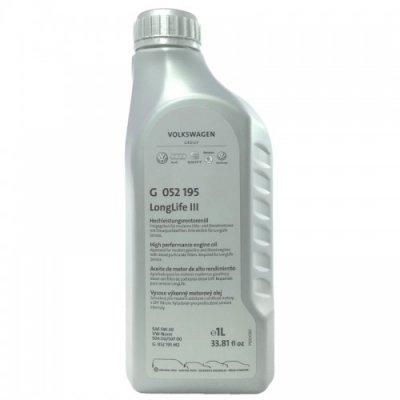 Оригинално моторно масло LongLife III 5W-30 Audi/Volkswagen G052195M2 1L