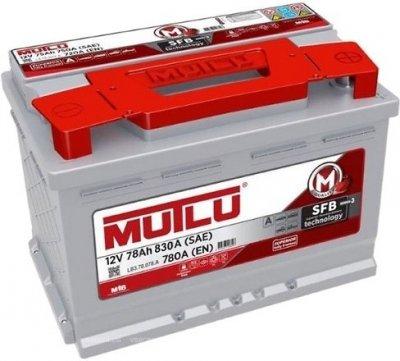MUTLU 78AH 780A R+ 278x175x175