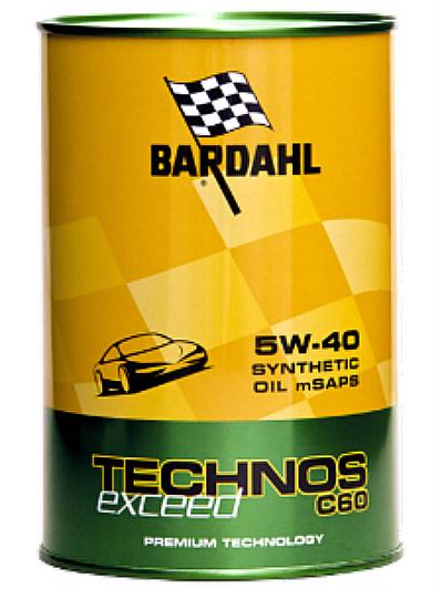 Bardahl TECHNOS C60 exceed 5W-40