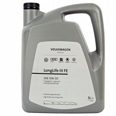 МАСЛО VAG LONGLIFE III FE 0W-30 - 5L
